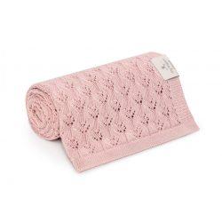 Best bambusz kötött takaró - Rózsaszín