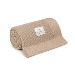 Best pamut kötött takaró - Homok
