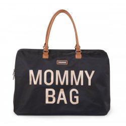 Exclusive táska anyukáknak - Mommy Bag fekete-arany
