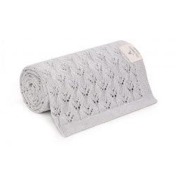 Best bambusz kötött takaró - Szürke