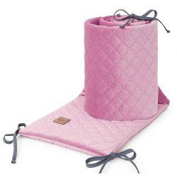 Dreamy steppelt velvet rácsvédő - Piszkos rózsaszín
