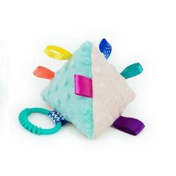 Piramis címkejáték - menta és bézs minkyvel