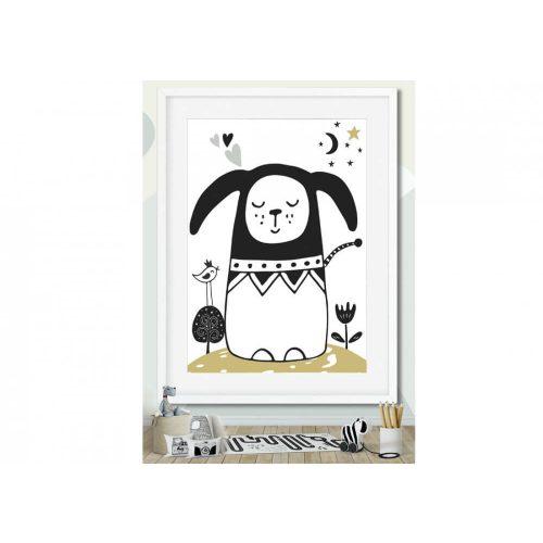 Állatos kollekció-Kutya falidekor