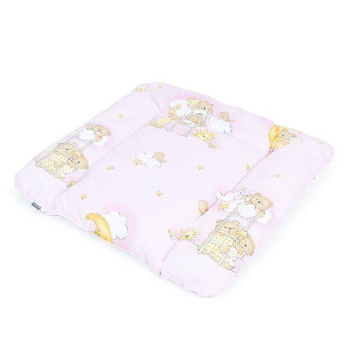 Dreamy pelenkázó alátét - Rózsaszín klasszikus macikkal