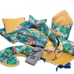 Pure babaváró kelengye csomag - Trópusi álom
