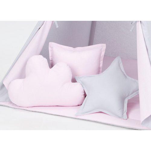 .TIPI formapárna - Rózsaszín szürkével