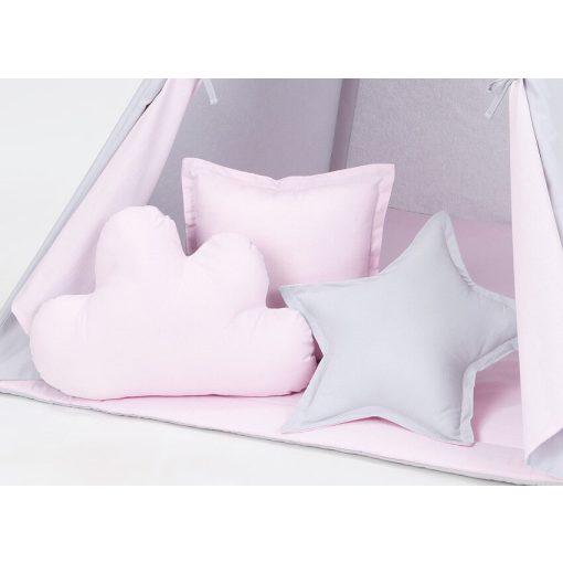 Dreamy formapárna szett - Rózsaszín szürkével