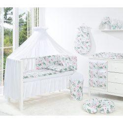 Dreamy 5 részes 100x135cm babaágynemű szett - Rózsakert