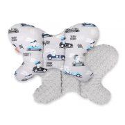 Harmony pillangó párna - Száguldó nyuszik szürke