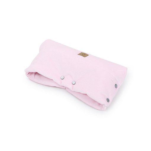 Dreamy babakocsi kesztyű - Világos rózsazsín velvet