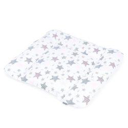 Dreamy pelenkázó alátét - Csillagmix rózsaszín