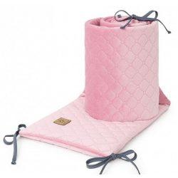 Rácsvédő - Rózsaszín színű steppelt bársonyos velvet