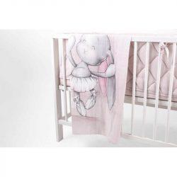 Effiki nyuszi  bambusz takaró - Effiki balerina
