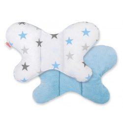 Harmony pillangó párna - Kék csillagok
