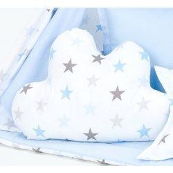 Dreamy formapárna felhő alakú - Kék csillagok