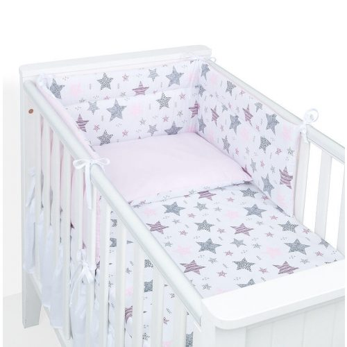 Dreamy rácsvédő - Csillagmix rózsaszín