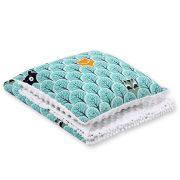 Harmony minky ágynemű szett  - Erdő állatai