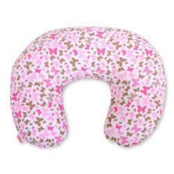 Szoptató párna - Rózsaszín pillangók