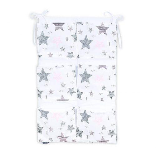 Dreamy zsebes tároló - Csillagmix rózsaszín