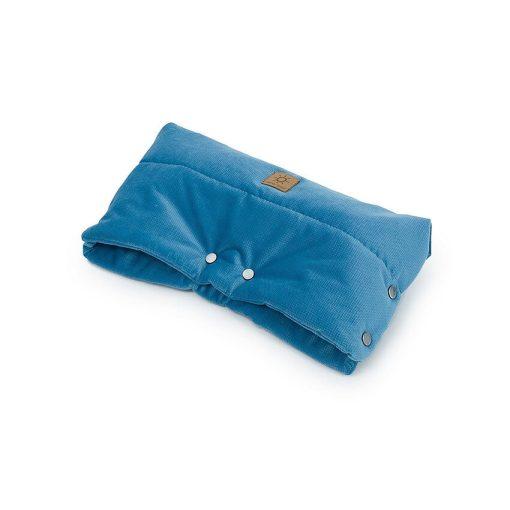 Dreamy babakocsi kesztyű - Farmer kék velvet