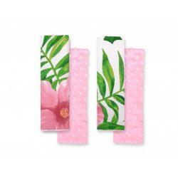 Harmony babakocsi öv védőpánt - Trópusi virágok