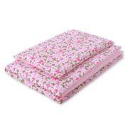 Harmony babaágynemű 2 részes huzat - Rózsaszín pillangók