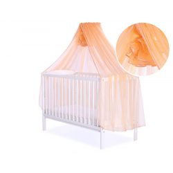 Baldachin babaágyhoz - Narancs