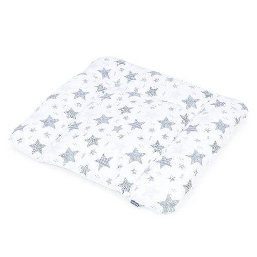 Dreamy pelenkázó alátét - Csillagmix szürke