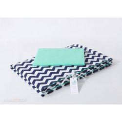 Velvet erdei állatok kék-barack steppelt bársonyos alvó matrac