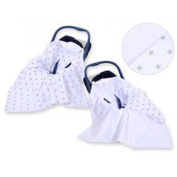 Harmony babaülés-és babakocsi takaró - Csillagok szürke