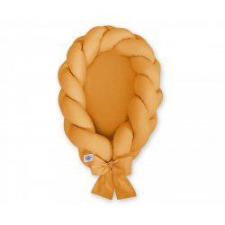 Fonott babafészek - Méz sárga