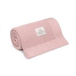 Best pamut kötött takaró - Rózsaszín