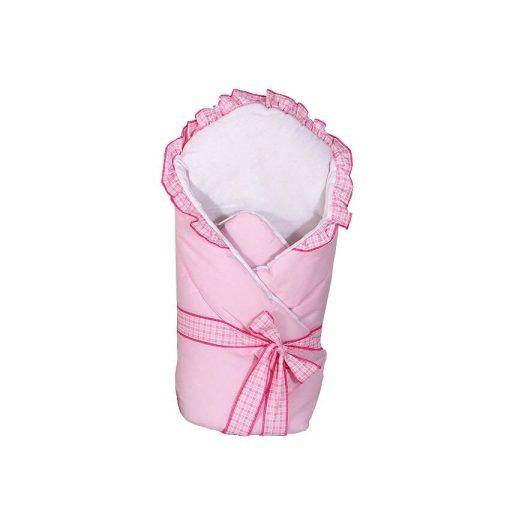 Dreamy puha pólya - Fodros rózsaszín