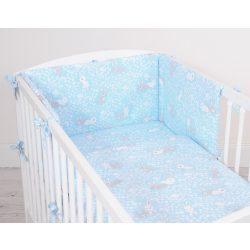 Harmony 3 részes babaágynemű - Nyuszik kék
