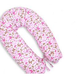 Kismama terhes párna - Rózsaszín pillangók