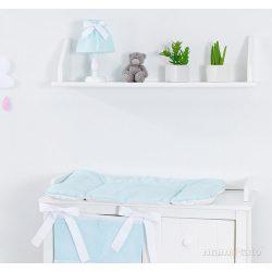 Pelenkázó alátét puha - Kék klasszikus