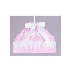 Babaszoba mennyezeti lámpa - Rózsaszín elefánt