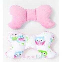 Dreamy pillangó párna - Bagoly pink minkyvel