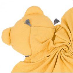 Dreamy muszlin babatakaró és párna szett - Mustár