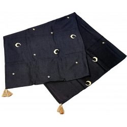Basic bambusz takaró 150x200cm - Éjszakai égbolt