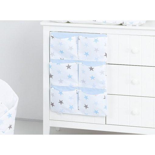 Dreamy zsebes tároló - Kék csillagok