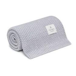 Best merinói gyapjú kötött takaró - Szürke