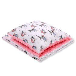 Minky takaró és párna szett  - Kutyák