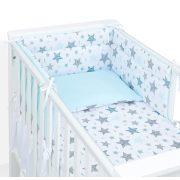 Dreamy babaágynemű 2 részes huzat - Csillagmix menta