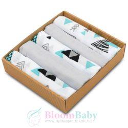 Pure 5 darabos muszlin pelenka csomag háromszögek