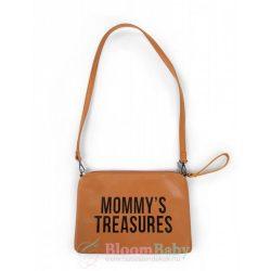Exclusive táska clutch anyukáknak - Barna bőrhatású