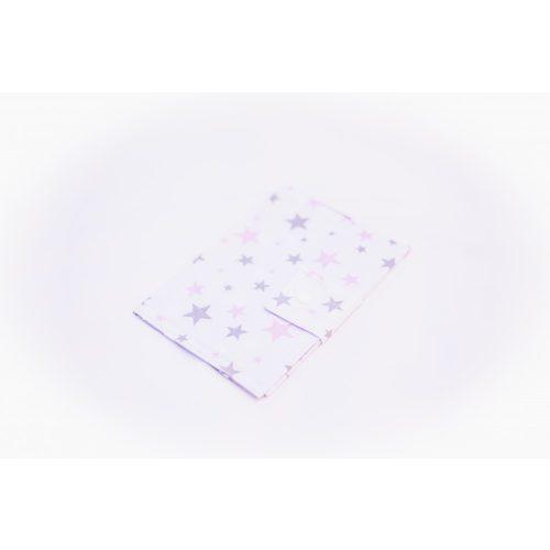 EÜ kiskönyv borító - Szürke és róózsaszín csillagok