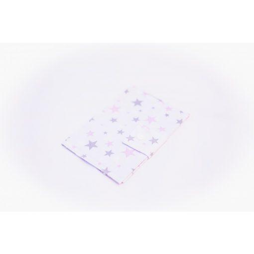 EÜ kiskönyv borító - Csillagok rózsaszín